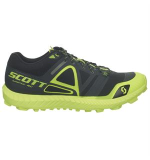 SCOTT Shoe Supertrac RC W Sort/Gul En teknisk løpesko for fjellet - dame